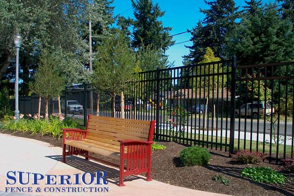 Ameristar Aegis II industrial majestic ornamental fence
