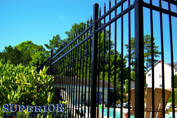 Aegis steel ornamental fence