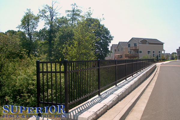 Echelon Plus ornamental steel & aluminum fence