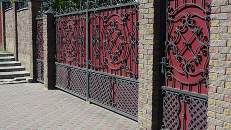 Access control fencing