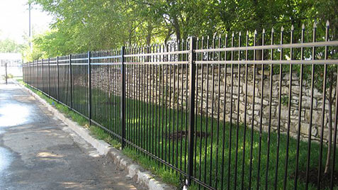 ornamental-steel fencing Portland